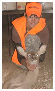 2008 Youth Hunt - Harvested Whitetail Doe