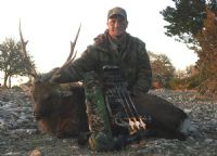 First Trophy Sika with a Bow